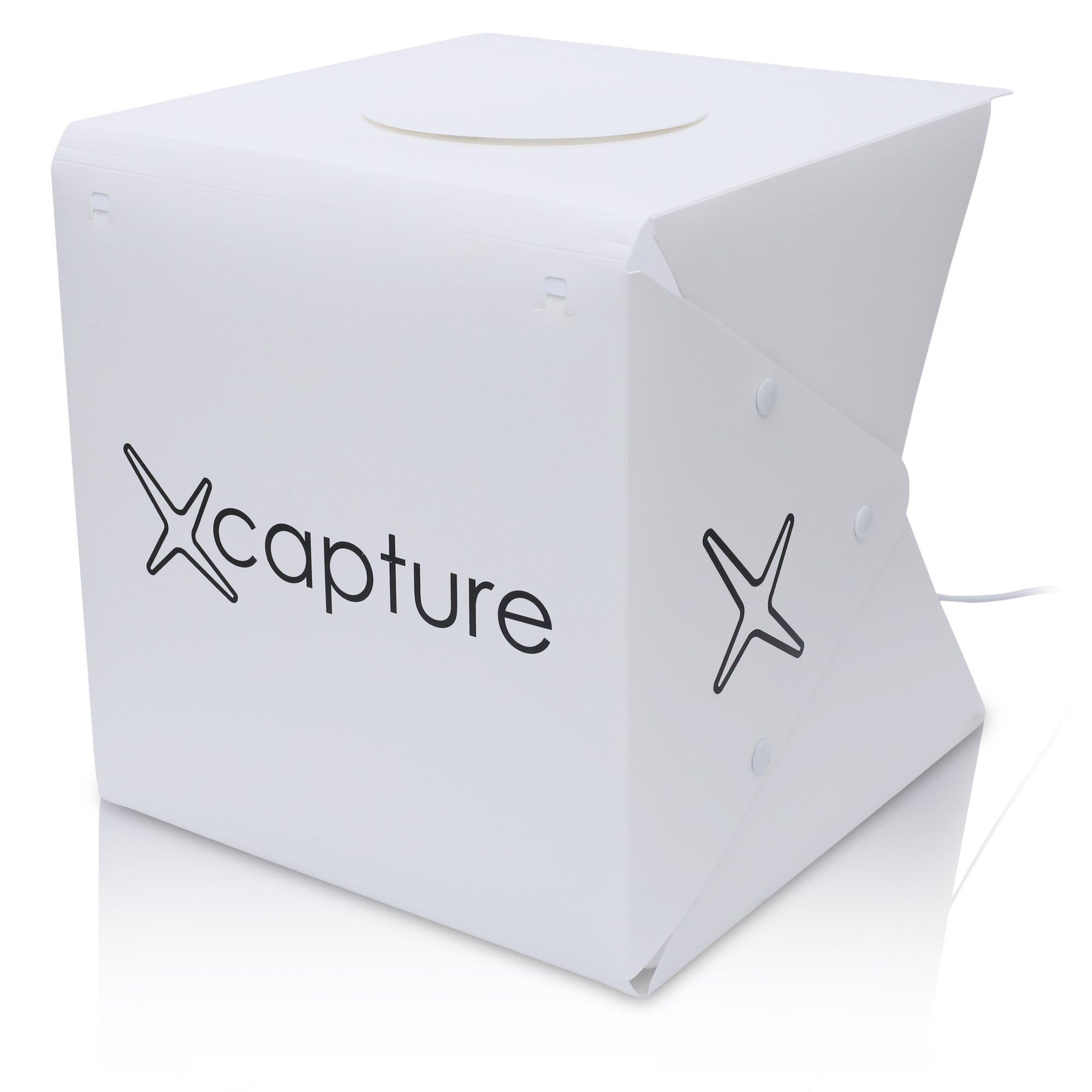 Capture Portable Photo Studio Box: LED Light Box Photo Tent- Large by Capture (Image #9)