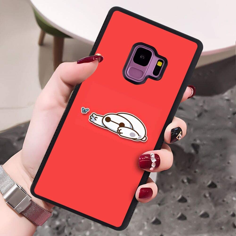 Samsung Galaxy S9 Baymax Red Wallpaper Case Cover 5 8 Amazon Ca Cell Phones Accessories