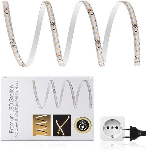 1-10m LED Stripe Streifen 5630 SMD Band Licht Leiste Lichterkette Netzteil RF