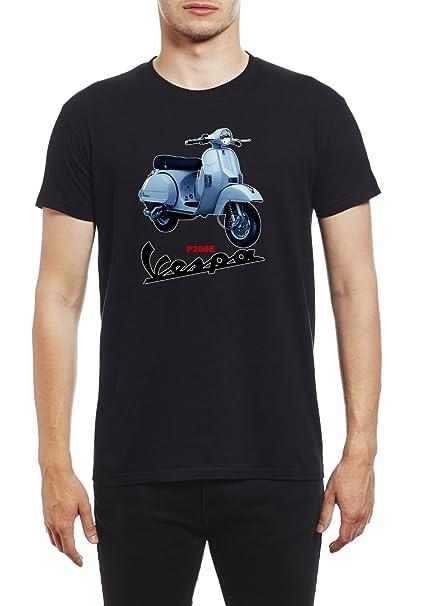 Northern Soul Vespa Scooter P200E. Camiseta para Hombre.: Amazon.es: Ropa y accesorios