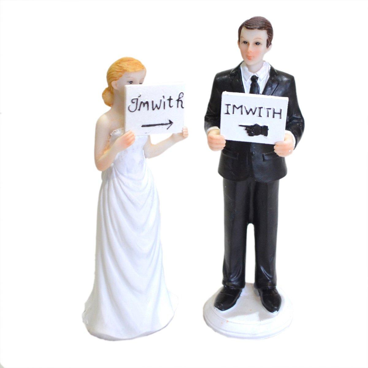 Novelty Wedding Cake Toppers: Amazon.co.uk