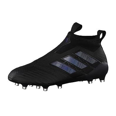 8ac1d15bd71f ... shop adidas mens ace 17 purecontrol fg sneakers black size 6 uk f7443  52d30