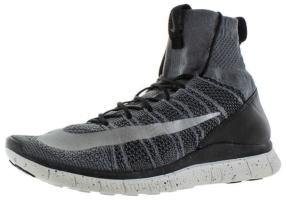 gris (Dunkelgris noir Summit Blanc argent) Nike Free Flyknit Mercurial, Chaussures de Foot Homme 44.5 EU