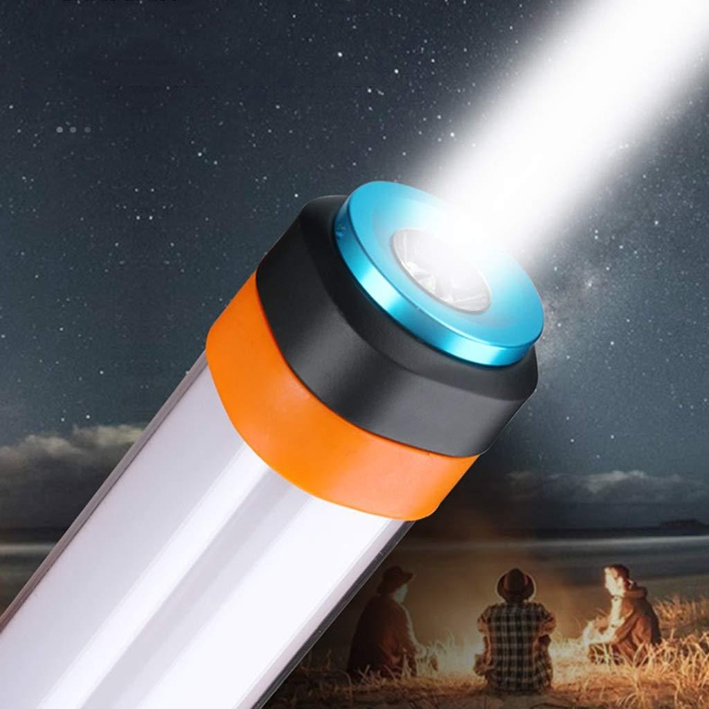 Taschenlampen Arbeitslicht Arbeitslicht Taschenlampen LED Lade Camping Licht Multifunktions Tragbare Camp Licht Hängen Lampe Geschenk (Farbe : grau, Größe : 29.2  3.4cm) c88c24