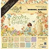 Graphic 45 4501421 Secret Garden Deluxe Collector's Edition Art and Craft Product