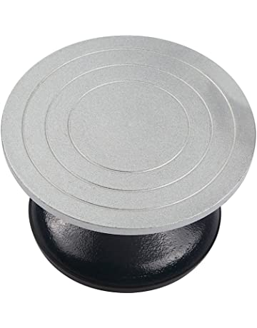 Falling in Art 7 inch Diameter Heavy Duty Metal Pottery Decorating Banding Wheel. #2