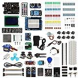 【SainSmart BAI】Arduino UNO Ultimate Starter Kit, w/ UNO R3, LCD, 7 Sensors, 3 Motors, 100+ Components