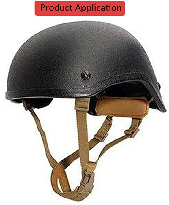 Casque tactique Sangle de menton Airsoft casque de v/élo Accessoires /à suspendre Syst/ème