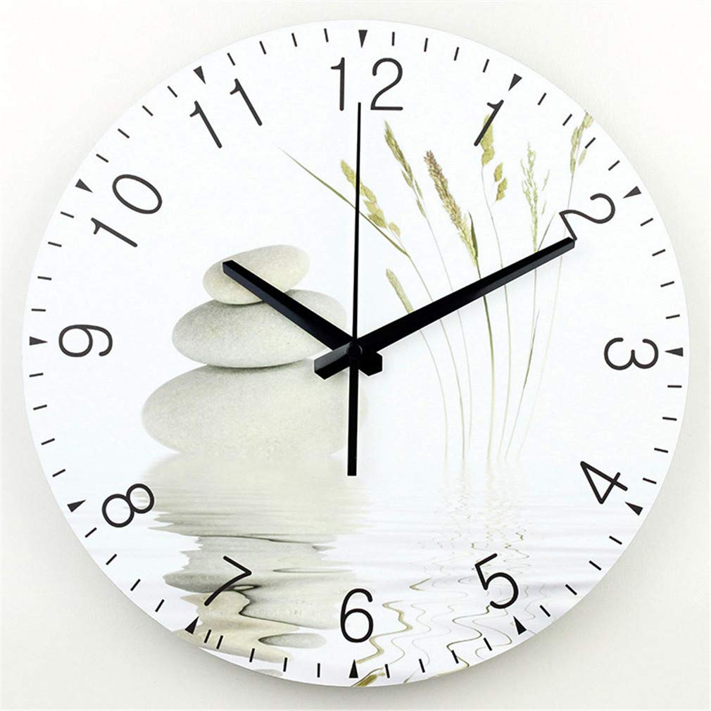 Amazon.com: Large Wall Clock Modern Design Silent Living Room 3D Wall Decor Clock Fashion Silent Wall Clock Home Decoration Relojes De Pared 14 inch 35cm: ...