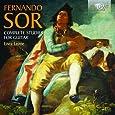 Fernando Sor: Complete Studies for guitar