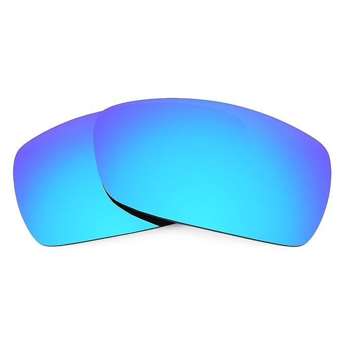 Revant Lentes polarizados para Oakley Spike (Azul Hielo) MirrorShield®