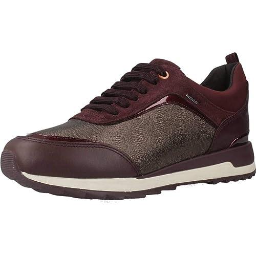 Calzado Deportivo para Mujer, Color Rojo, Marca GEOX, Modelo Calzado Deportivo para Mujer GEOX D Aneko B ABX A Rojo: Amazon.es: Zapatos y complementos