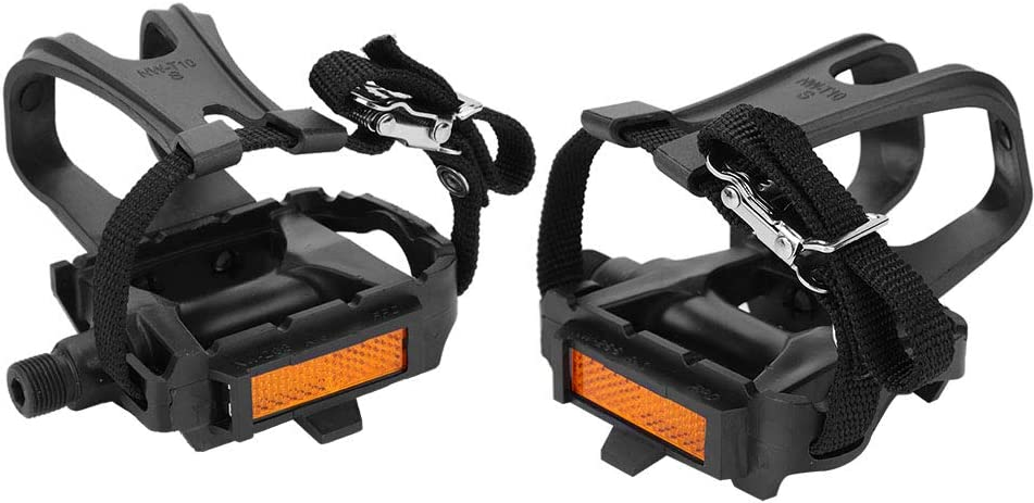 1 PAIR Road Mountain Bike Pedal Replacement Cycle Toe Straps Nylon Security Fit