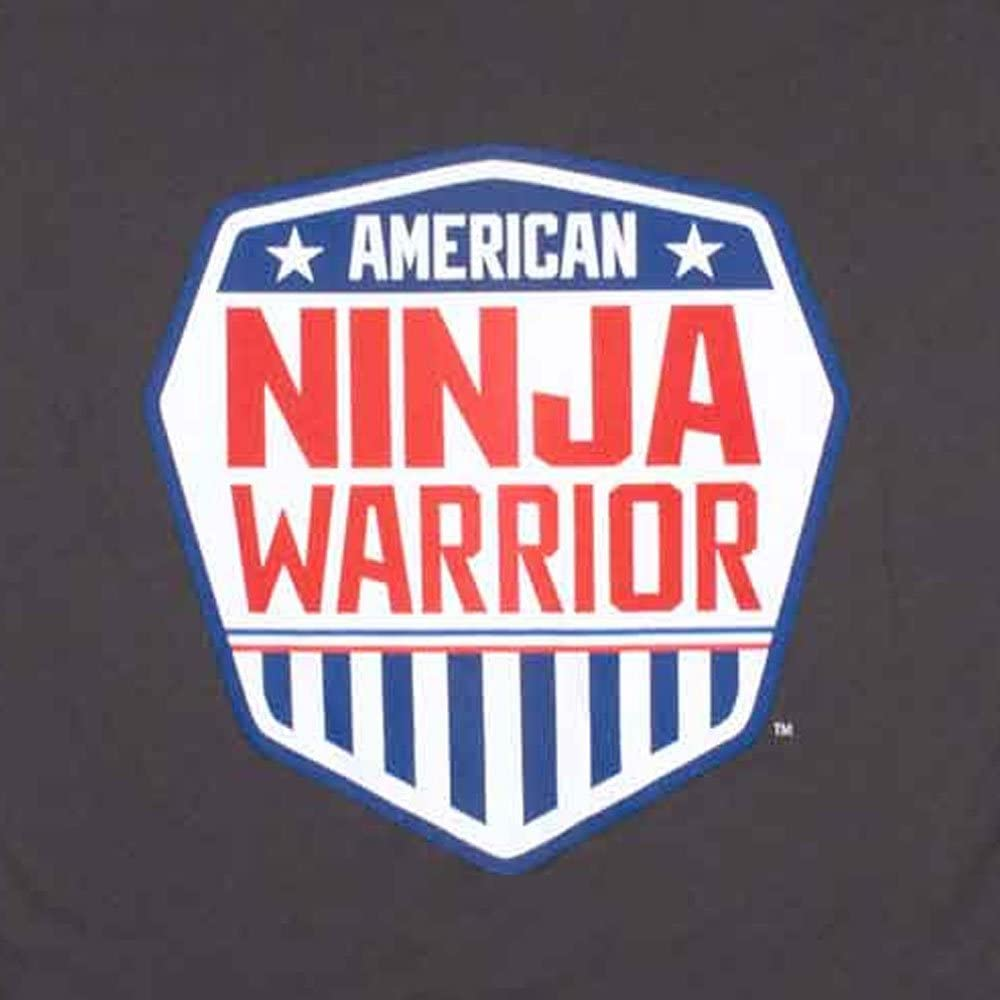 Perfect for Ninjas in Training Official American Ninja Warrior Kids Performance T-Shirt Lightweight 100/% Polyester