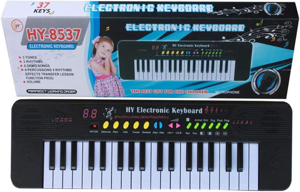 KYOKIM Teclado Electrónico Portátil De 37 Teclas para Niños ...