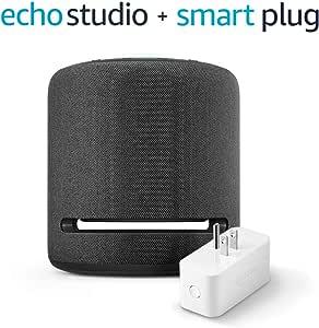 Echo Studio (Charcoal) with Amazon Smart Plug