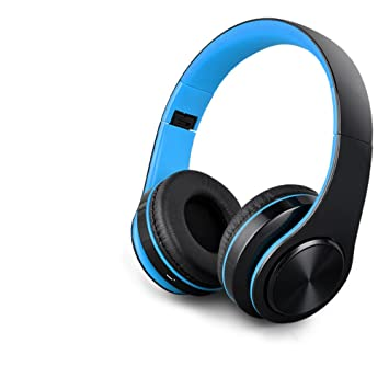 MLL Auriculares Bluetooth Auriculares inalámbricos Deporte Auriculares Auriculares Ordenador Teléfono Universal,Azul