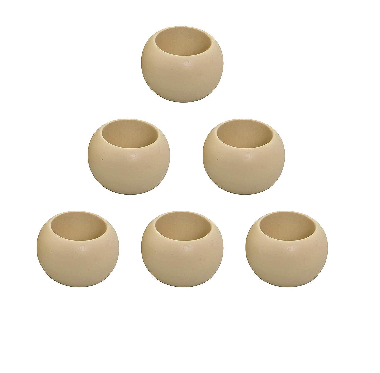 Handmade Napkin Rings Christmas Napkin Rings Light /& Pro Wooden Napkin Rings Handmade Artisans Crafted in India Wood Napkin Ring Set -4 Pack -Natural-1.5 Napkin Rings