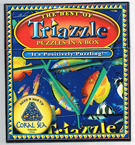 The Best Of Triazzle Puzzles In-A-Box -Coral Sea (Dan Gilbert's Original)