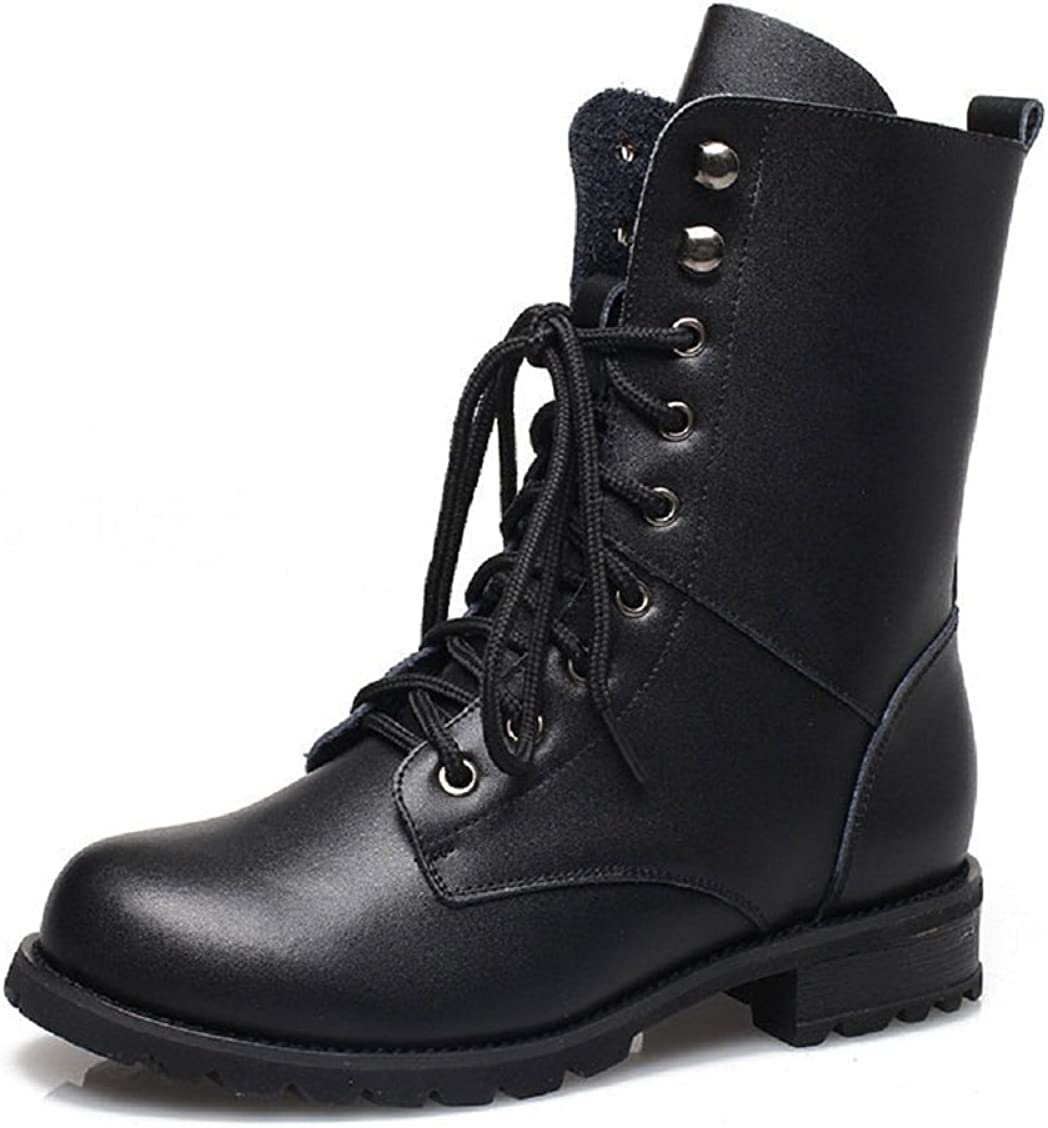 Women Combat Boots Military Boots Faux