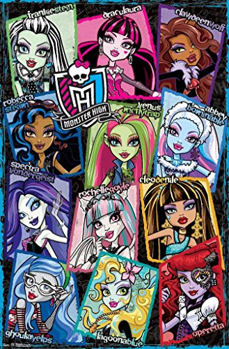 Monster High Snapshots Poster 22 x 34in ()