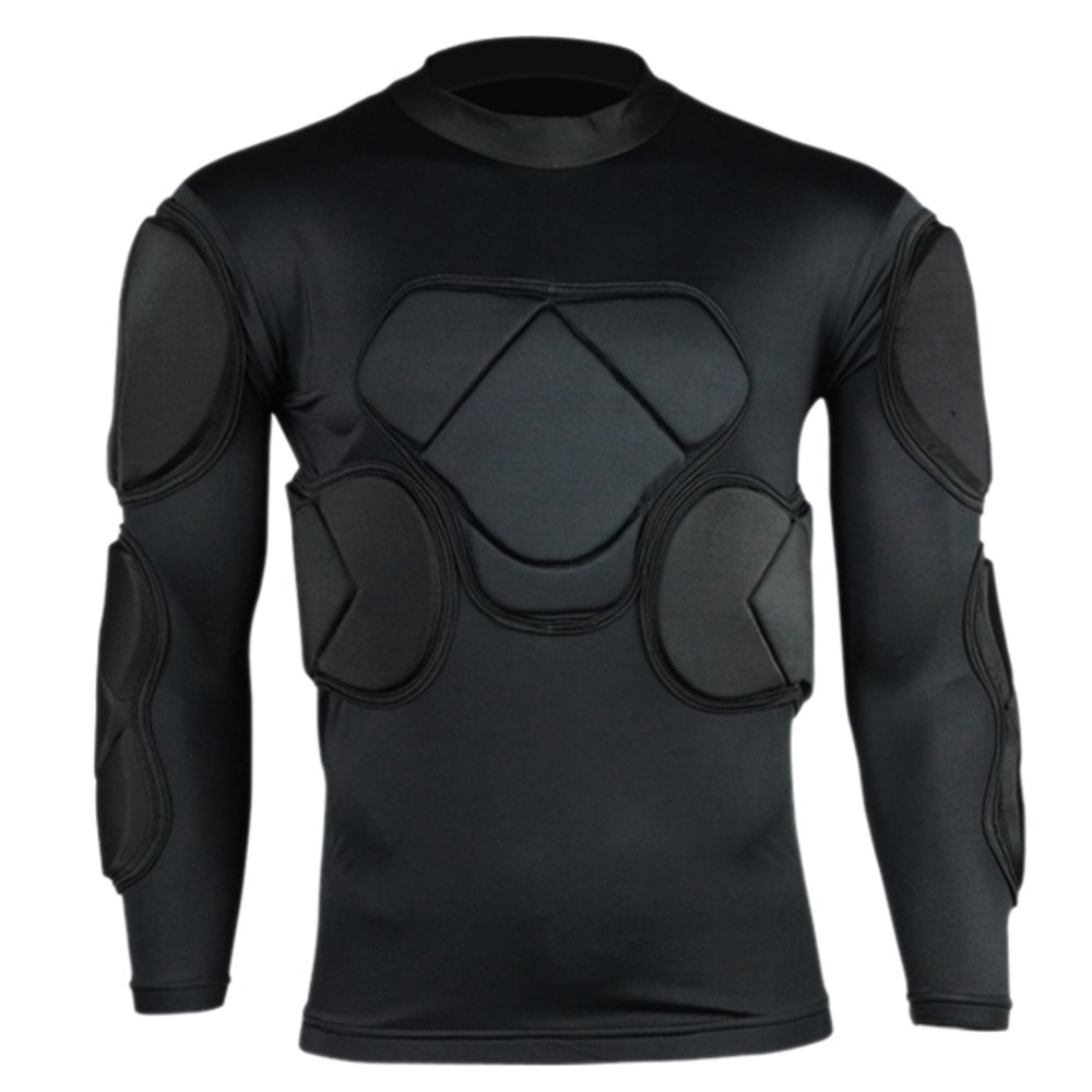 Long Sleeve Goalkeeper Clothes Elbow Pads Helmet Kneecaps