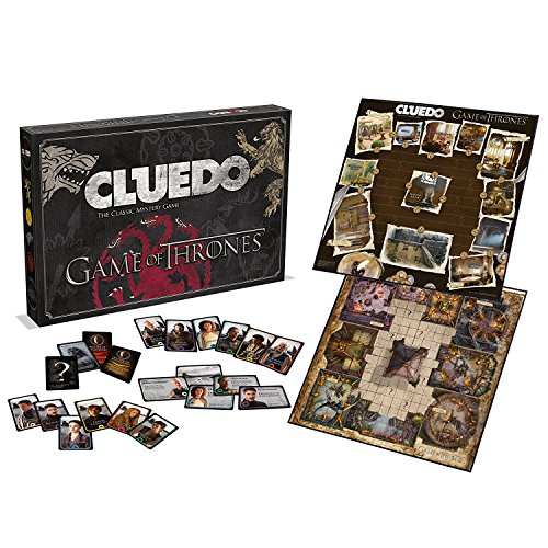 Game of Thrones Clue Deluxe Limited Edition Board Game