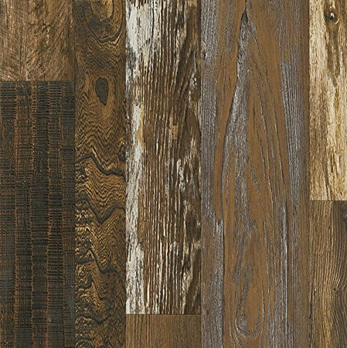 Armstrong L6626 Architectural Remnants Woodland Reclaim Laminate Flooring  Old Original Wood Brown