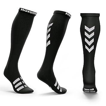Calcetines de Compresión Medias de Compresión Hoicmoic Shocks Calcetines para Hombres y Mujeres Calcetines Deportivos para