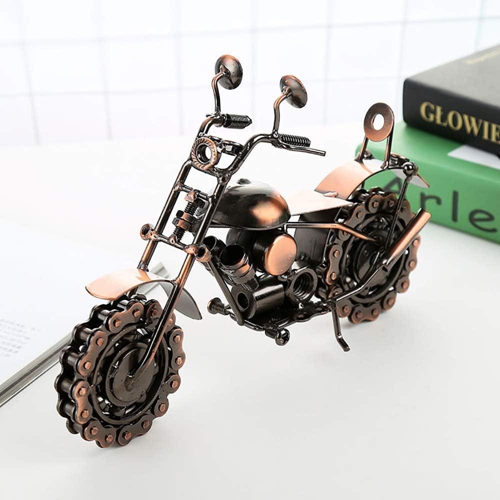 DAMAI STORE De Gran Tamaño Harley Hierro Modelo De La Motocicleta De La Decoración De La Vendimia De La Artesanía Creativa Niños 26cm * 12cm * Regalo 19cm