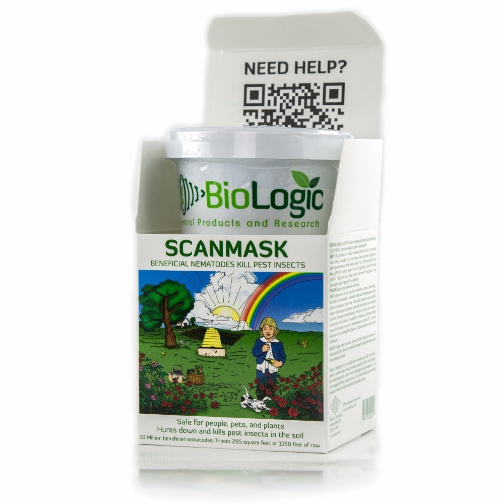 charming beneficial nematodes for termites #4: Amazon.com : Dr. Pyeu0027s Scanmask 10 Million Live Beneficial Nematodes -  Kills Over 230 Bugs : Pest Controlling Insects : Garden u0026 Outdoor