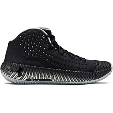Under Armour UA HOVR Havoc 2, Scarpe da Basket Uomo, Nero (BlackWhiteBlack (002), 44 EU