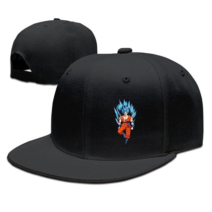 Gorra unisex de rapero Hittings para adultos, Dragon Ball Z, Goku, gorra de béisbol, gorra negra: Amazon.es: Ropa y accesorios