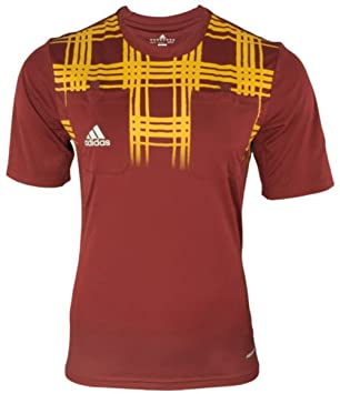 Adidas Árbitro Camiseta Jersey Referee UEFA Europa League w63186, Rojo