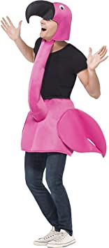 Disfraces DISFRAZ de flamenco de aves 1 tlg. Disfraz de Flamingo ...