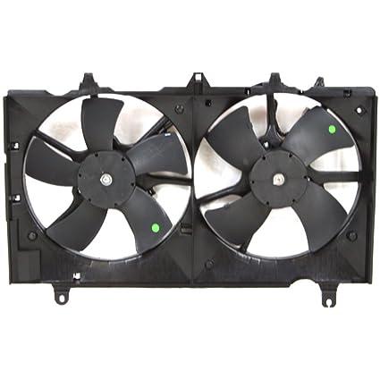 Radiator Fan Assembly for COBALT 05-10 Single Type 2.2L Eng.