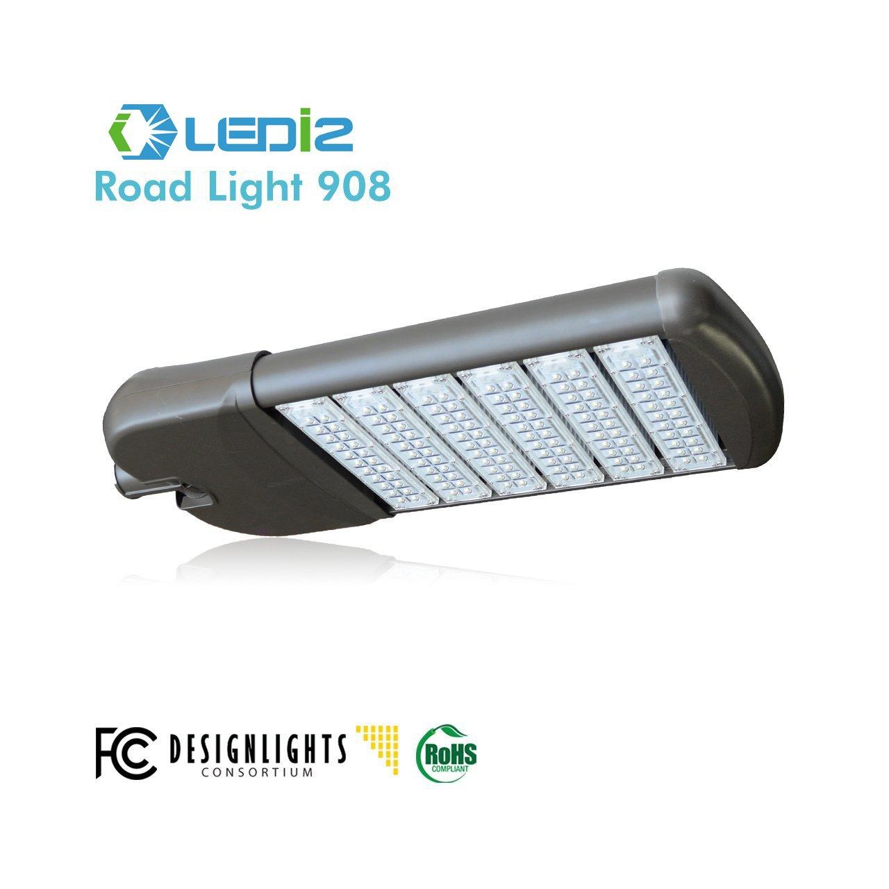 LEDi2 LED Road Light Parking Lot Light Area Light Houston 908, 280W, 5000K, AC120-277V, CRI:70, Lumen 29,400, 105Lm/W Phillips Driver, 5 year limited warranty