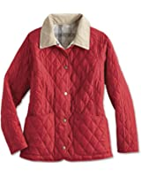 Barbour Spring Annandale Women's Quilted Jacket - Chilli Red/Summer, Size 4, 6