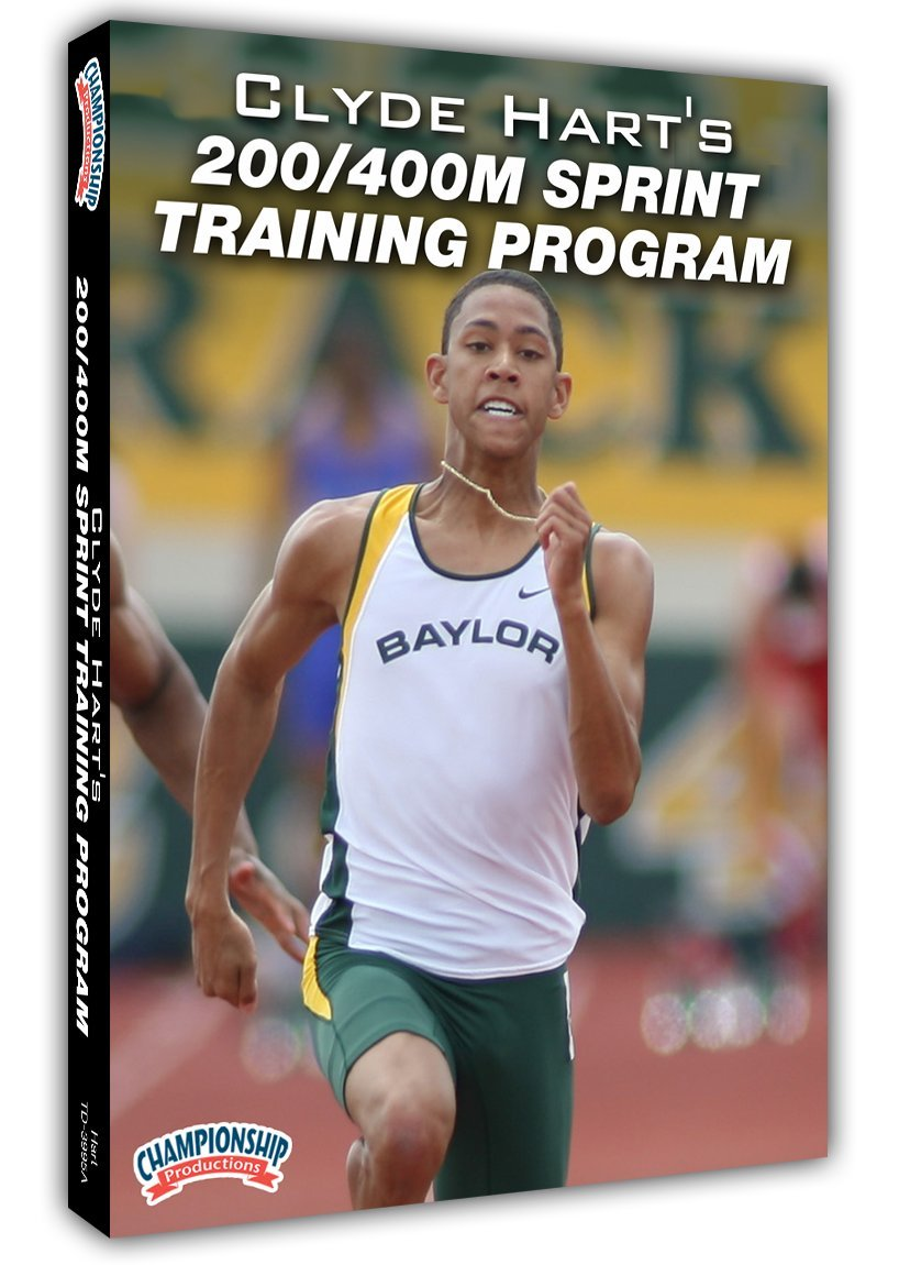 Championship Productions Clyde Hart's 200/400M Sprint Training Program DVD by Championship Productions (Image #1)