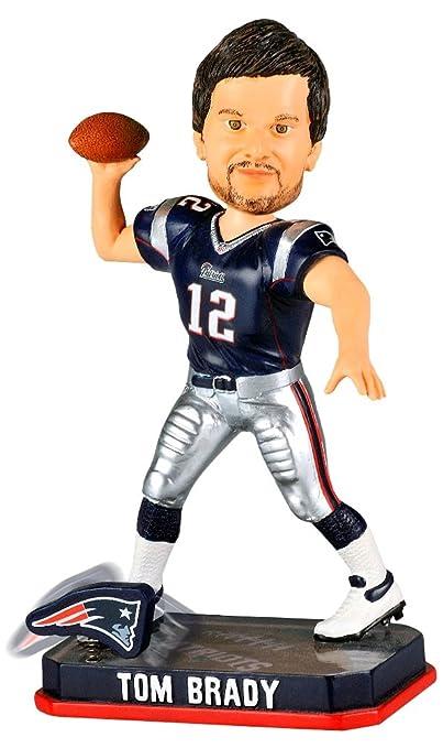 Amazon.com : Tom Brady New England Patriots NFL 2014 Springy Logo ...