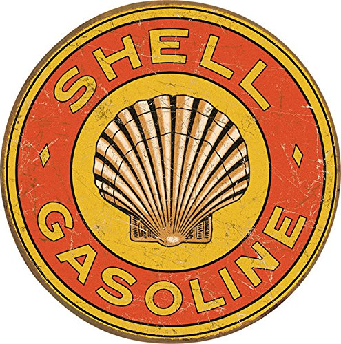 Tin Sign Shell (Tin Signs TSN1964-BRK Shell Gasoline)