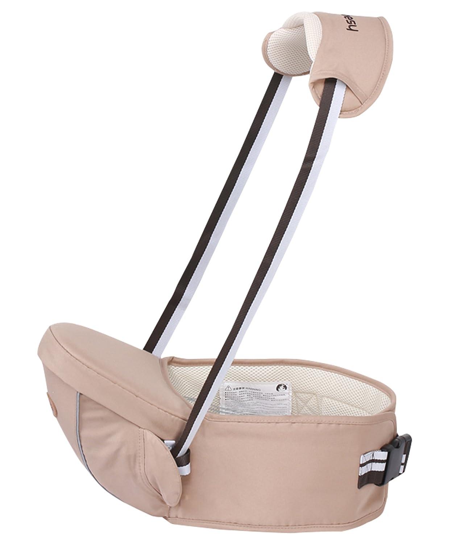 Gabesy Baby Multifunktion Hü fttrage Hü ftsitz mit Trä ger Hipseat Tragehilfe Kleinkind Taille Hocker Leicht Babytrage Bauchtragen - Khaki