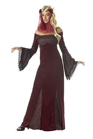 Renaissance Maiden / Medieval Times / Halloween California Costume Teens Girls  sc 1 st  Amazon.com & Amazon.com: Renaissance Maiden / Medieval Times / Halloween ...