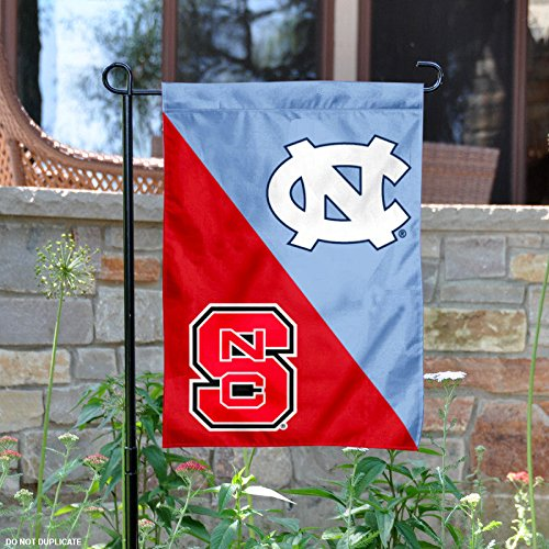 North Carolina Tar Heels House Divided Garden Flag (House Divided Unc)