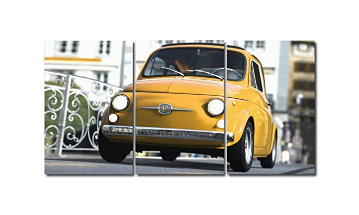 Triptico Fiat 500 180x90 cm