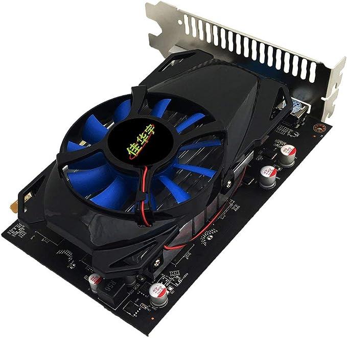 Zinniaya Tarjeta gr/áfica R7-350 para computadora de Escritorio 4G GDDR5 128 bits HDMI y VGA y Soporte DVI 4K