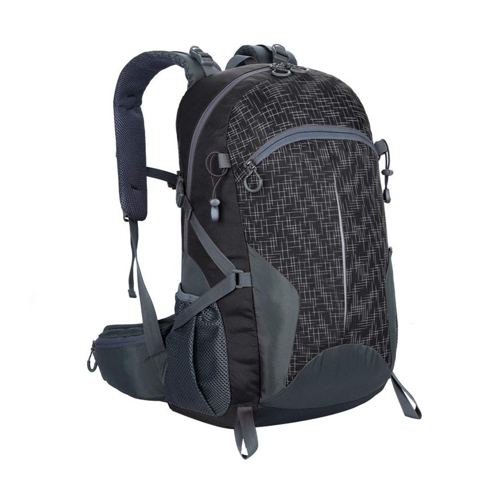 ZDD Outdoor Mountaineering Bag Camping Bag Men And Women 40L Large Capacity Splash-proof Backpack Student Bag Color : Fruit green