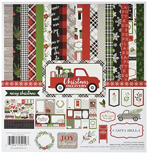 Carta Bella Paper Company CBCD58016 Christmas Delivery Collection Kit -