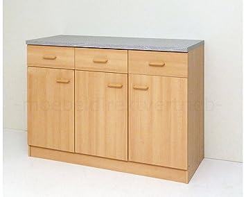 Anrichte Küchenschrank Sideboard buche: Amazon.de: Küche & Haushalt | {Küchenschrank buche 3}