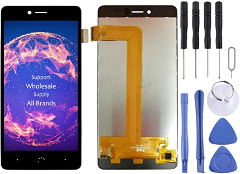 Black ZQ House LCD Screen and Digitizer Full Assembly for BQ BQ-5707 Next Color : Black